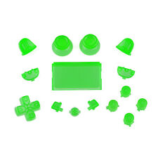 Sony ps4 PLAYSTATION 4 Full Button Set-Crystal Green
