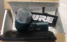 SHURE 52a Dynamic Kick BETA Drum Microfono Mic