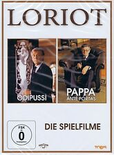Double DVD NEW/OVP-Loriot-The Movies-ödipussi/Pappa ANTE PORTAS