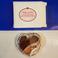 Avon Mark Hollywood Pink Sweet Heart Lip Gloss Duo Deep Chocolate New Retired