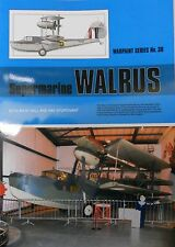 Warpaint Series No.039 - Supermarine Walrus 24 Pages           Book