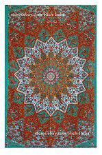 India Decor Mandala Tapestry Wall Hanging Hippie Throw Bohemian Twin Bedspread