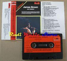 MC JAMES BROWN Soul classic 1972 POLYDOR no codice a barre  no cd lp vhs dvd (*)