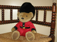 Harrods UK 12 inch Royal Guardsman Bear