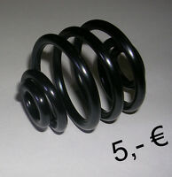 1 ressort noir selle solo moto harley piece bobber seat saddel sping smal black