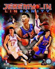 "JEREMY LIN ~ ""Linsanity""  8x10 Color Photo Picture ~ New York Knicks"