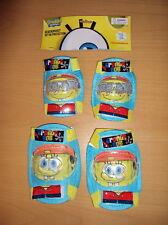 Spongebob Nickelodeon Knie,- Ellenbogenschutzset Neu/OVP Geburtstagsgeschenk