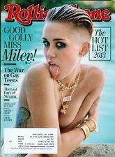 2013 Rolling Stone: Miley Cyrus/Hot List 2013/War On Gay Teens/Sheryl Crow