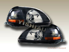 96 97 98 Honda Civic Headlights JDM Black 2/3/4Door NEW