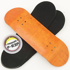 Peoples Republic - 30mm Wooden Fingerboard Deck - Orange