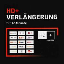 HD+ HD Plus Verlängerung für 12 Monate SAT 30Sek. Versand nach Zahlungseingang