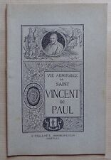 vie admirable de Saint Vincent de Paul - Paillart Abbeville