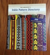 The Weaver's Inkle Patttern Dictionary Book by Anne Dixon