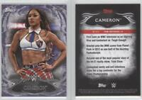2015 Topps WWE Undisputed Purple #96 Cameron Wrestling Card