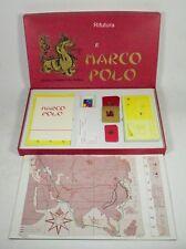 Gioco da tavolo VIAGGI E COMMERCI DEL NOBILE MARCO POLO board game anni '80-00BI