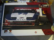NISSAN 300ZX IMSA Vintage Factory Motor Racing Poster