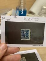 US Stamps 312 Used SCV $190