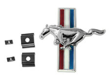 NEW 1964-1966 FORD Mustang Shelby GT-350 Front Grill Panel Emblem GT350 w/ clips