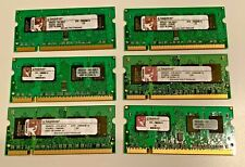 KTH-ZD8000B/1G RAM DIMMs (1GB DDR2 PC2 667MHz SODIMM 200-pin)