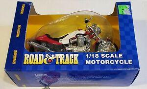 Moto Guzzi Die Cast Red Centauro 1/18 Scale Maisto Motorcycle Toy