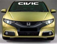 Honda civic logo windshield banner vinyl decals stickers