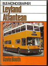 Leyland Atlantean - Bus Monographs Number 1 by Gavin Booth Pub. Ian Allan 1984
