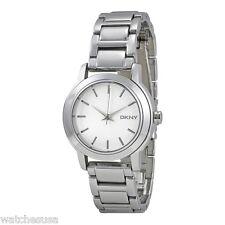DKNY Women's Tompkins Silver Ion-Plated Bracelet Watch NY2209