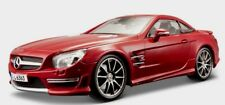 Maisto 1/18 Mercedes SL63 AMG Premiere Diecast Hard Top Red