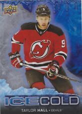 TAYLOR HALL 2017-18 17-18 UPPER DECK OVERTIME ICE COLD #IC-13 DEVILS