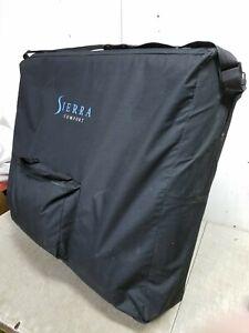 Sierra Comfort Portable Massage Table Set, Black, Unused in Bag