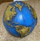 Very+Rare+Vintage+Candle+-+Globe+-+Continents+And+Islands+Are+In+High+Relief