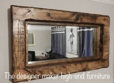 Rustic Primitive Home Decor Mirrors With Shelf For Sale In Stock Ebay