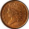 1835 Half Cent Choice BU+ Details Great Eye Appeal Fantastic Luster Nice Strike
