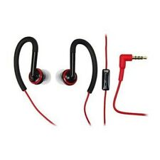 Original Motorola 3.5mm SF200 Sports Headphones with Mic - Black / Red