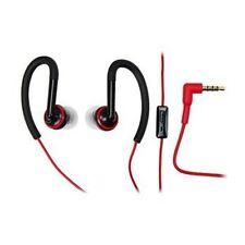 Original Motorola 3.5mm SF200 Sports Headphones with Mic - Black / Red