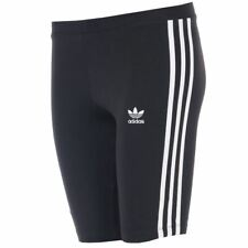 Women's adidas Originals Tight Fit Mid Rise Cycling Shorts in Black