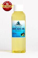 AVOCADO OIL REFINED ORGANIC CARRIER COLD PRESSED FRESH 100% PURE 2 OZ