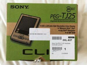 Sony CLIE PEG-TJ25/E1PDA - Technology Personal Work Organiser Office Palm OS5