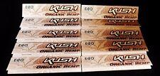 10 Packs KUSH Organic ECO  King Size Slim Cigarette Rolling Papers Free Ship