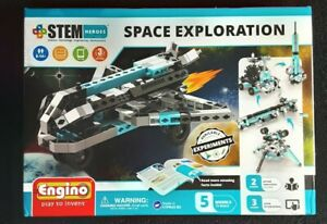 Engino - STEM Heroes Toys | Learning About: Space Exploration - Building Toy ...