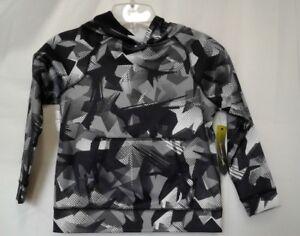 NEW Exertek Boys' Size 5 Black Camouflage Long Sleeve Sweatshirt $40 NWT