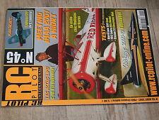 µµ Revue RC Pilot n°45 Plan encarté Typhoon EPP / Mirage 2000 Alpina 4001 Lipos