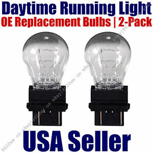 Daytime Running Light Bulb 2pk OE On Listed Chevy/Chevrolet Models - 4114K