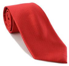 Michelsons UK - Plain Rib Polyester Tie