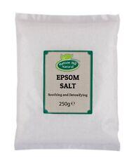 Epsom Salt   Magnesium Sulphate   BP Grade   Bath Health Garden Beauty   250g