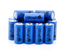 1 St. protegidas BRC ultrafire 16340 Li-ion baterías recargables 1200 Mah
