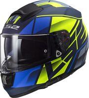 LS2 FF397 Vector Hpfc Evo Casco de Moto Integral o Opcional Visera