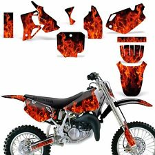 Graphic Kit Honda CR 80 MX Dirt Pit Bike Decals Sticker Wrap CR80 96-02 ICE ORNG