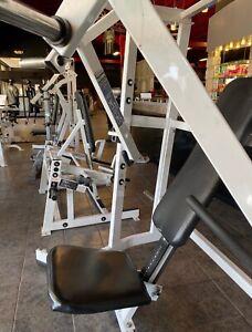 hammer strength chest press, gym equipment, fitness equipment, ISO decline press