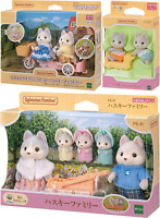 NEW Sylvanian Families HUSKY DOG Series 3 Sets Calico Critters Epoch Japan F/S